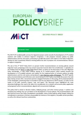MIICT SECOND POLICY BRIEF_Seite_1